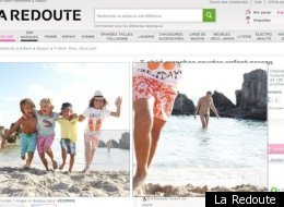 La Redoute has been doubly embarrassed by both a naked man and then a spelling mistake