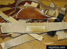 The antique violin was allegedly destroyed on the advice of PayPal