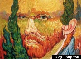 Picasso optical illusion, by Oleg Shuplyak