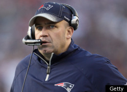 FOXBORO, MA - JANUARY 01: Bill O'Brien of the New England Patriots looks on from the sideline in the second half against the Buffalo Bills on January 1, 2012 at Gillette Stadium in Foxboro, Massachusetts. (Photo by Elsa/Getty Images)