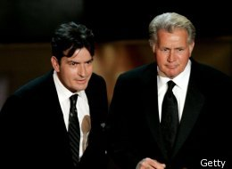Charlie Sheen is hoping his father Martin Sheen gets an Oscar nod for 'The Way' in the nominations this year