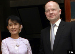 William Hague's Visit To Burma Came About After A Recent Thaw In Bilateral Relations