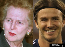 Margaret Thatcher and David Beckham are just a few of the Brits who have wielded tremendous influence.