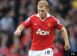 Paul Scholes, 37, made an unexpected return to Manchester United in the FA Cup tie against Manchester City
