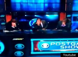 The CBS crew preferred to say it via Tebowing.