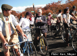 Participants in D.C.'s annual Tweed Ride will love H Street's new bike shop. (<a href=