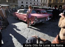 Karla Otto for Luisa Via Roma
