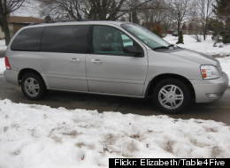 Ford Freestar recalled. (Photo by FLICKR: ELIZABETH/TABLE4FIVE.)