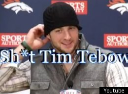 Tim Tebow is becoming a popular topic for viral videos.