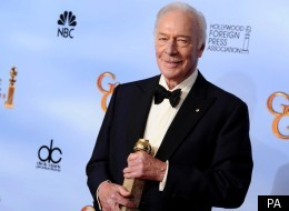Christopher Plummer has won his first Golden Globe at the age of 82 for 'Beginners'
