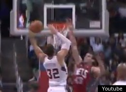 The hits keep coming for Kris Humphries.