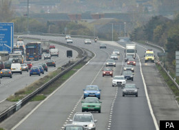 Five people have been injured in a crash on the M5