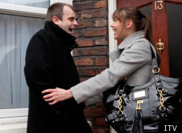Steve and Tracy are about to tie the knot on Coronation Street