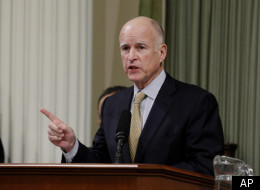 California Gov. Jerry Brown calls for a tax increase on those earning $250,000 or more.