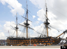 A Repica Of HMS Victory - The Real One Has Been Submerged For 300 Years