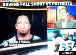 Terrell Suggs had some not so kind words for Skip Bayless.