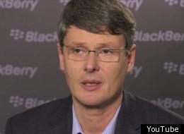 New RIM CEO Thorsten Heins.
