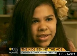 Chloe McSwain, an 11-year-old actress from Georgia's anti-obesity ad campaign, is speaking about her experiences.