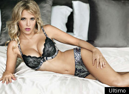 Michael Bublé's wife, Luisana Lopilato, bares all in sexy new lingerie ads.