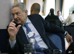 Chairman of Soros Fund Management, USA, George Soros, speaks at the Seehof hotel on the sidelines of the World Economic Forum in Davos, Switzerland on Wednesday, Jan. 26, 2011. Buoyed by a burst of optimism about the global economy and mindful of the