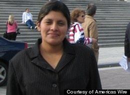Encarnación Bail, an undocumented immigrant from Guatemala, who is in a prolonged fight to regain custody of her son, lost custody of her infant son, Carlos, in 2008, a year and a half after she was arrested and jailed by federal immigration authorities during a raid of the poultry plant where she worked in Cassville, Missouri.
