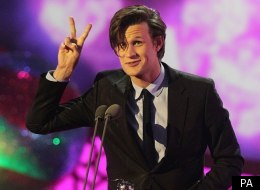 Matt Smith completes the double for 'Doctor Who' at the National Television Awards