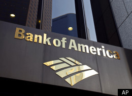 The Bank of America building is shown at the Bank of America Plaza in downtown Los Angeles on Friday, Oct. 8, 2010. (AP)