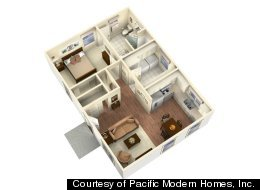 Transitional housing for seniors can come in build-it-yourself kits like this model.