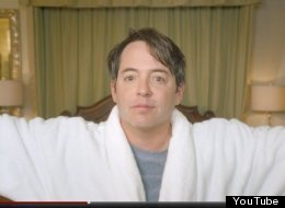He's back! Matthew Broderick has reprised his role as Ferris Bueller for a mystery ad