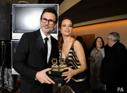 Michel Hazanavicius and his partner Berenice Bejo have another good night at the Directors Guild Awards 2012