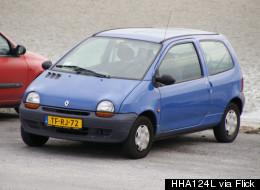 La Renault Twingo 1 est la voiture la plus volée de France