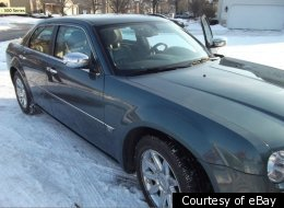 Illinois man Tim O'Boyle is selling this Chrysler 300C sedan for $1 million, mainly because it once belonged to President Barack Obama.