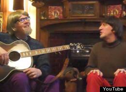 Don Singing and Bob Corner reminisce