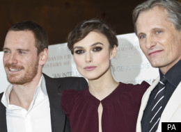 Michael Fassbender, Keira Knightley, Viggo Mortensen attend gala screening of 'A Dangerous Method'