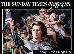 Margaret Thatcher, one of many Sunday Times Magazine cover stars over the years