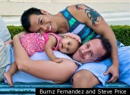 Burnz Fernandez and Steve Price