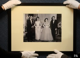 One of the sixty photos in a new exhibition marking the Queen's Diamond Jubilee