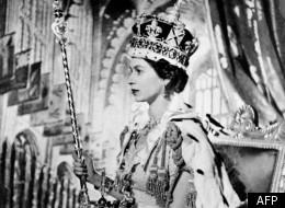 La Reine Elizabeth II d'Angleterre, le jour de son couronnement
