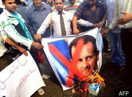 Des manifestants en novembre 2011