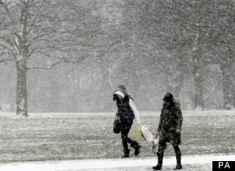 Snow Fell Across The UK On Saturday Night And More Is Expected On Sunday