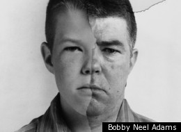 One of Bobby Neel Adams' 'Age-Maps'