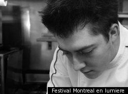 Clément Petitjean au festival Montréal en lumière.