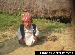 Guinness World Records officials are heading to Nepal to see if Chandra Bahadur Dangi, 72, is the world's shortest man. Reports suggest he's 22 inches, which would make him the shortest man ever measured