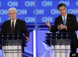 Former House Speaker Newt Gingrich and former Massachusetts Gov. Mitt Romney have said they would slash regulations, corporate taxes and government spending as a means of addressing America's economic woes.