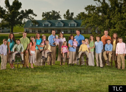 The Duggar family, stars of
