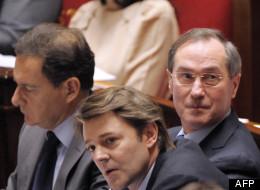 Les ministres François Baroin et Claude Guéant le 17 janvier à l'Assemblée nationale