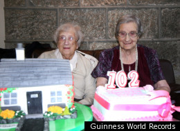 Edith Ritchie and Evelyn Middleton turned 102 on November 15, and now they have been officially recognized as the world's oldest twins by Guinness World Records.