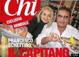 Oysters: Francesco Schettino and Domnica Cemortan enjoy a seafood meal, as featured on Chi magazine