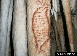 The 42,000-year-old painting