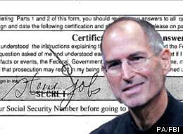 Steve Jobs FBI Files Released
